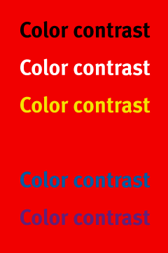 contrast-red