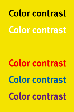 contrast-yellow