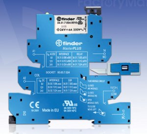 FactoryMation introduces new relay series from Finder