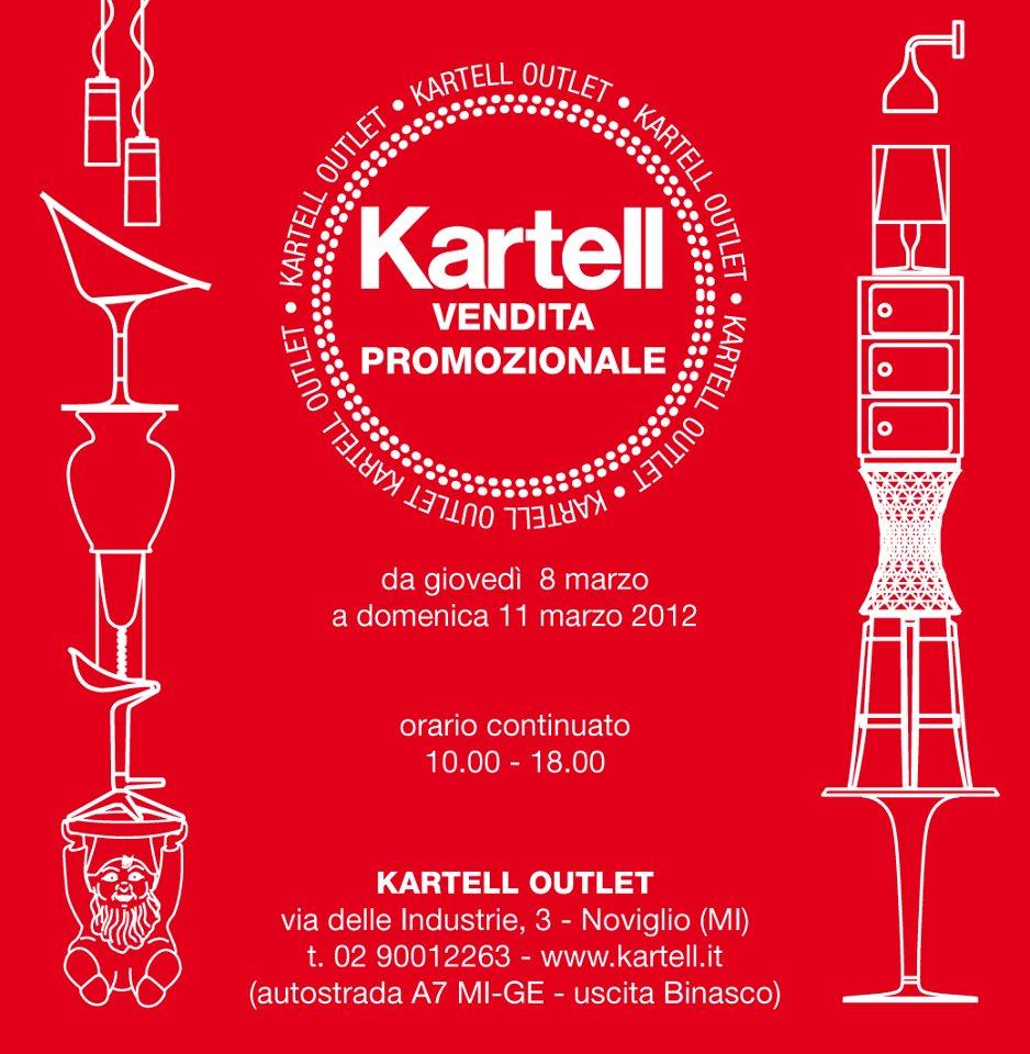 La prima vendita promozionale è quella di Kartell ( 8-11 marzo ...