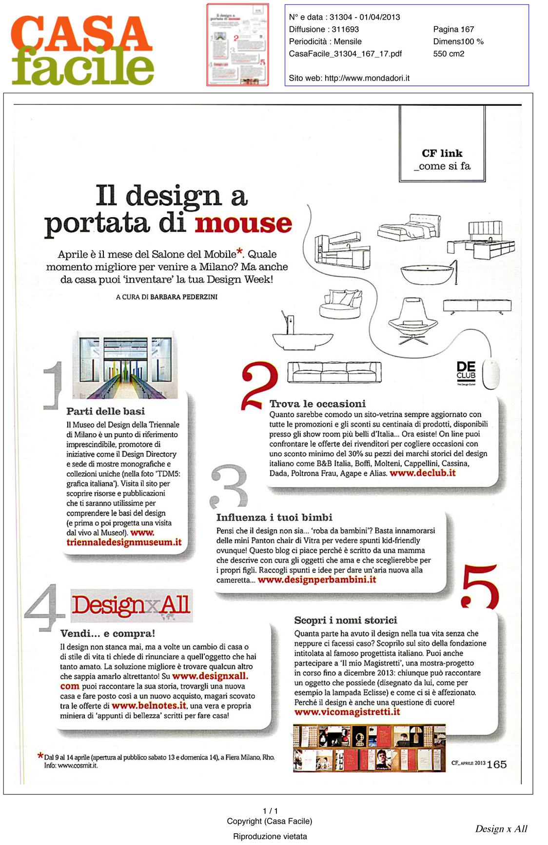 Vendi il tuo oggetto di design design x all for Progetta il tuo layout di casa