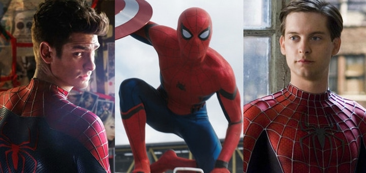 The Three Spideys Superhero