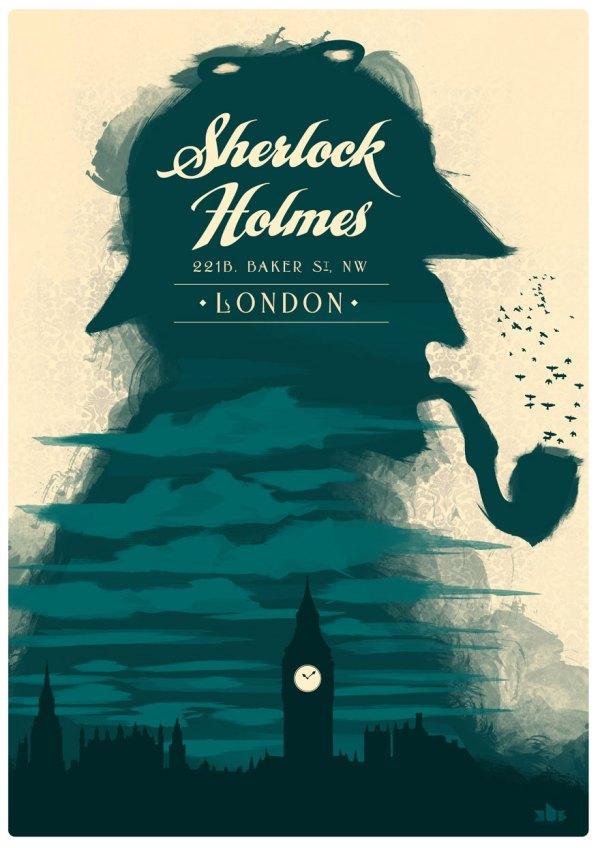 Sherlock Holmes Graphic Design