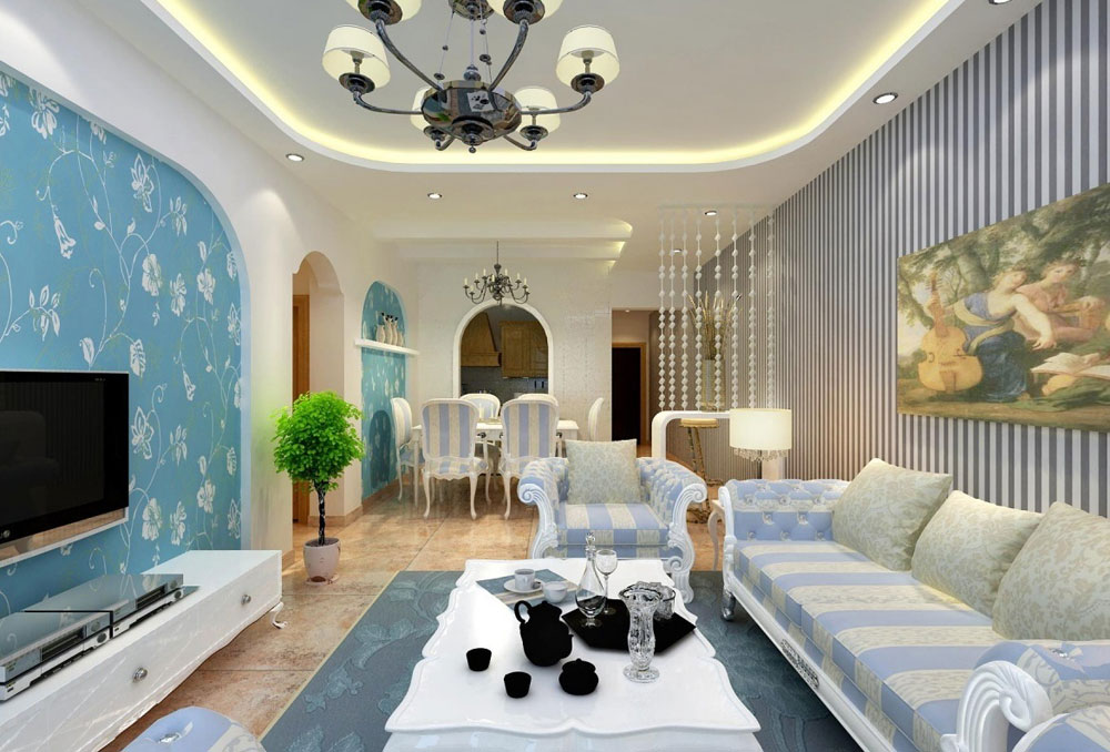 beautiful living room interior designs grey tile ideas design 65 lovely rooms with striped walls 7
