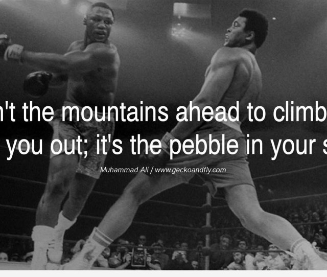 Muhammad Ali Quote  Best Motivational Wallpaper Examples With Inspiring Quotes