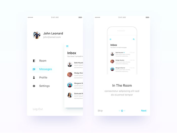 Designing a great looking mobile navigation [Check this guide]