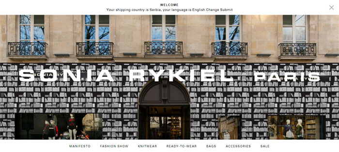 SONIA-RYKIEL-I-Official Web Design Basics: What Makes A Good Website