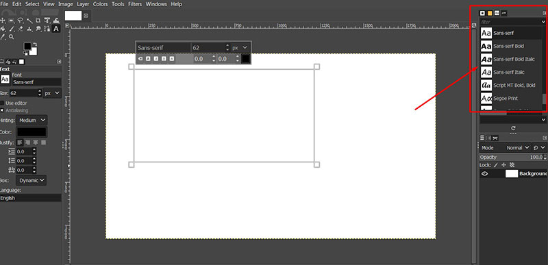 Download How to add fonts to GIMP (Fonts installing guide)