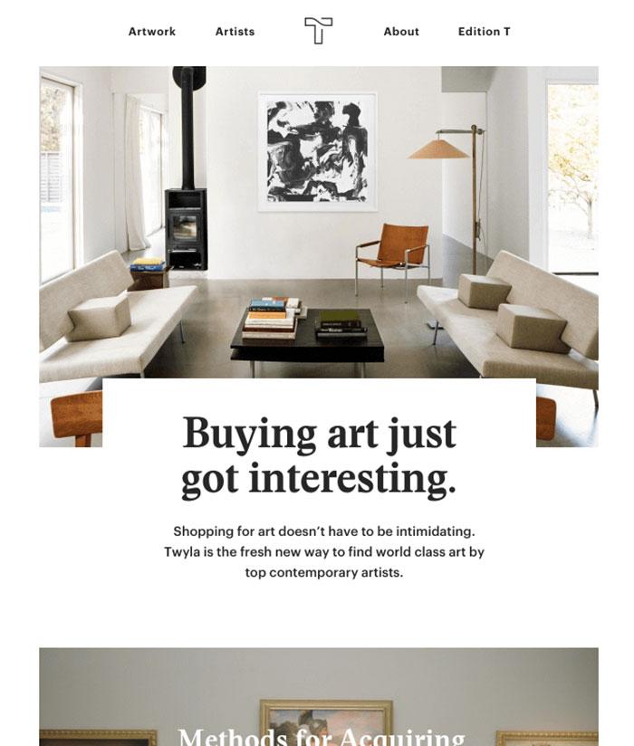 Contemporary Newsletter Design Ideal Vistalist Co