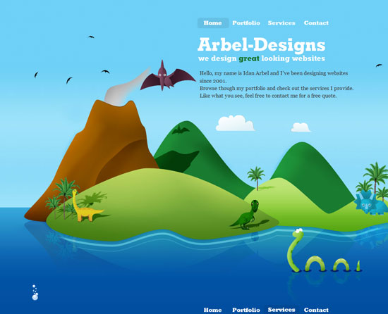 arbel-designs.com Site design