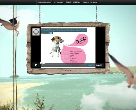 winicio.com Site design