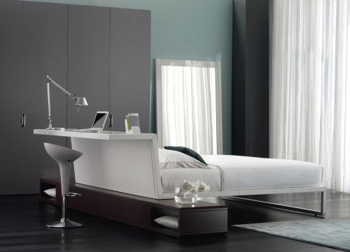 Bed Desk - Cool Examples Of Innovative Furniture Design