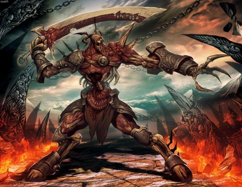 Warhammer: Nurgle Drawing Illustration