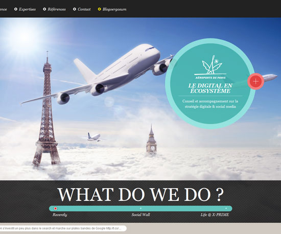 xprimegroupe.com Website Design Inspiration