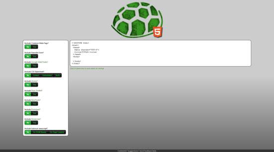 html shell