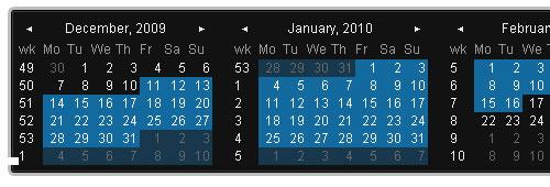 Date Picker jquery form plugin