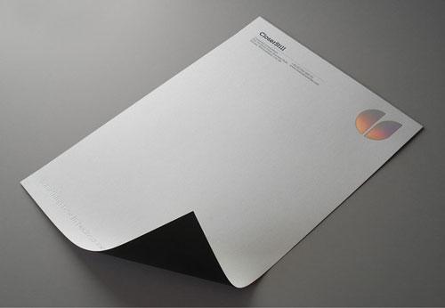 CloserStill Identity - Letterhead And Logo Design Inspiration