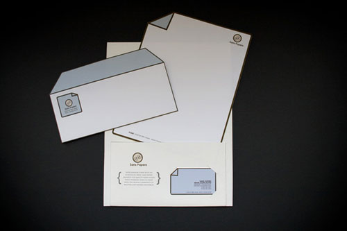 ID collection by David Garcia 4 - Letterhead And Logo Design Inspiration