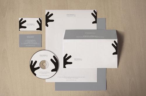 Snowball Studios - Letterhead And Logo Design Inspiration