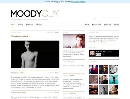moodyguy.net - Minimalist site