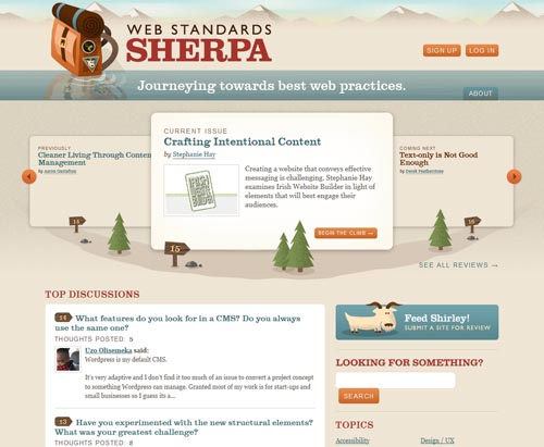 webstandardssherpa.com