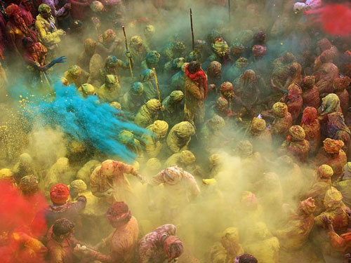 Holi Celebration, India Photography