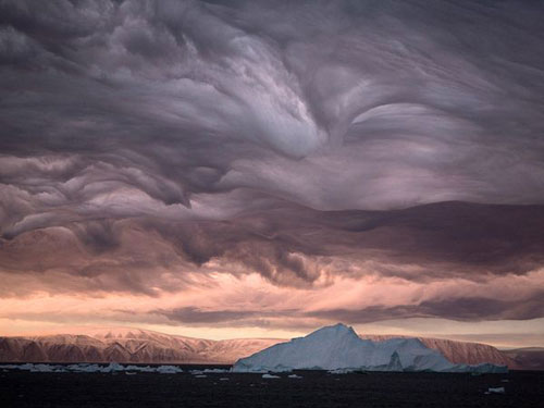 Stratus Clouds, Greenland Photography