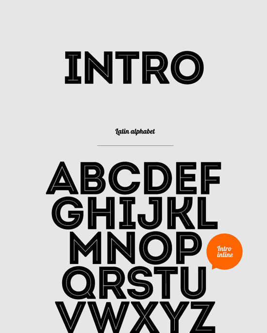 New Useful Free Fonts To Help You On Your Projects