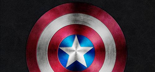 Captain America Shield in Photoshop