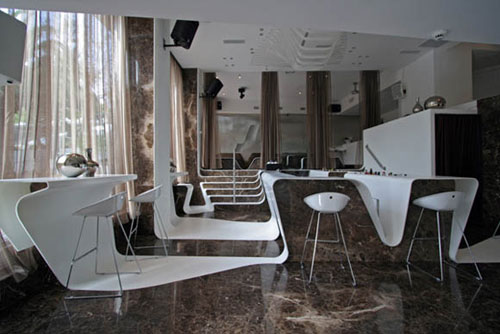 Frame Bar in Kolonaki, Athens 2 - Restaurants And Coffee Shops With Beautiful Interior Design