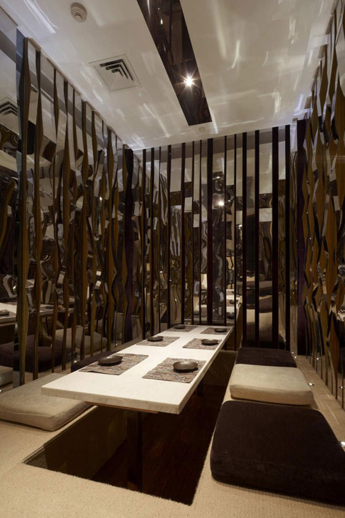Haiku Sushi in Shanghai, China 4 - Restaurants And Coffee Shops With Beautiful Interior Design