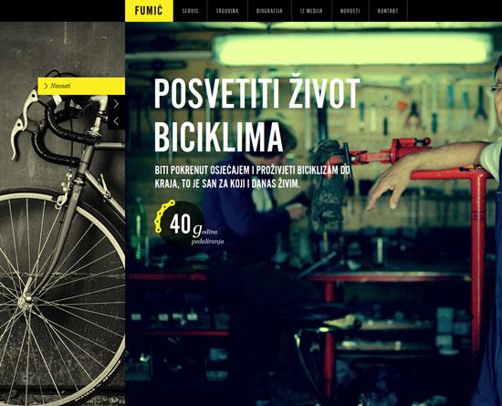 biciklifumic.hr Site Design