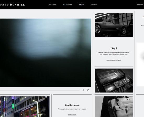 dunhill.com Site Design