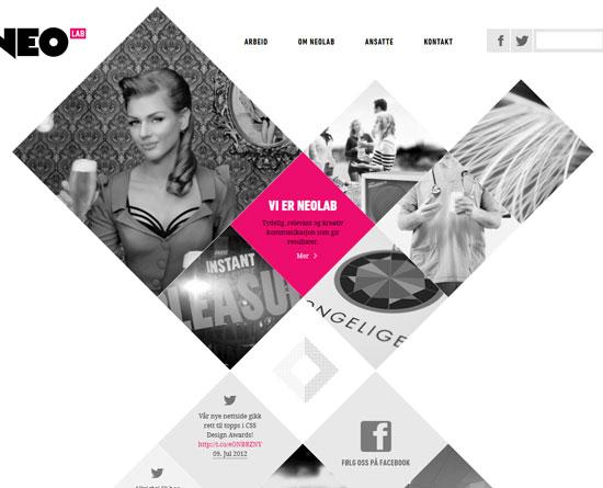 neolab.no Site Design