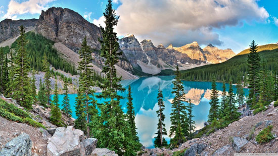 Moraine Lake, Canada Nature Photography