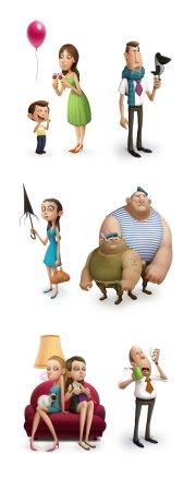creative character design showcase