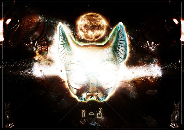 Bastet Photoshop Design Inspiration