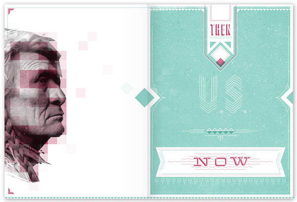 Wonderful Print Design Inspiration 28 Neat Examples