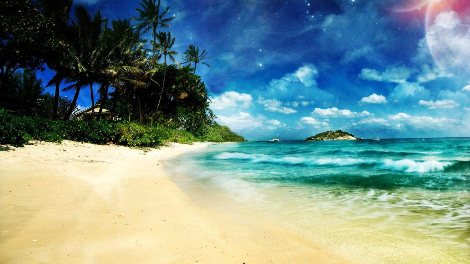 129 beach wallpaper examples