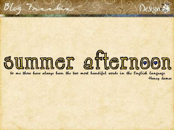 Wednesday SayingZ | Summer Afternoon