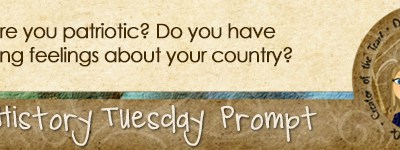 Journal Prompt: Are you patriotic? Do you have strong feelings about your country?
