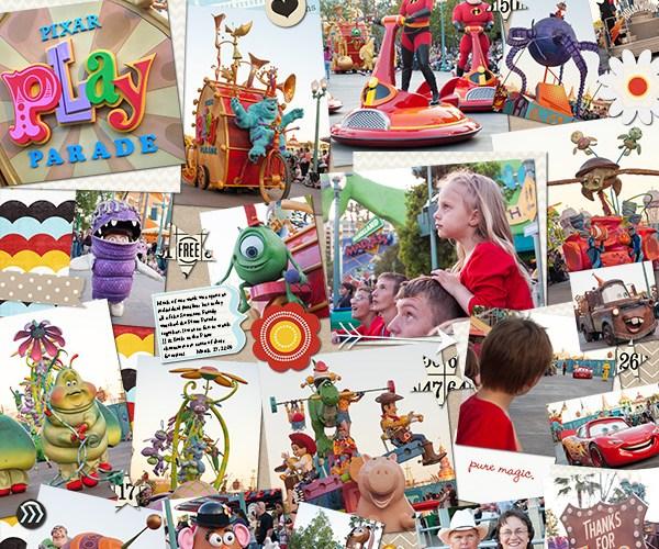 Life 2009 | Pixar Play Parade