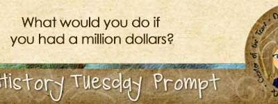 Journal Prompt: What would you do if you had a million dollars?