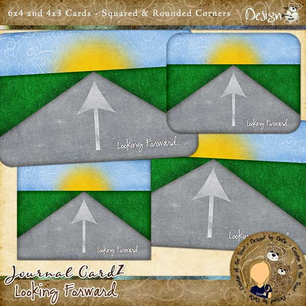 Journal CardZ - Looking Forward by DesignZ by DeDe