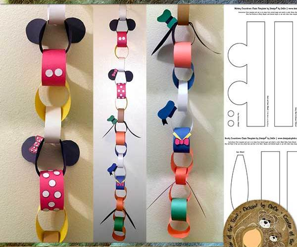 NEW! Fab 5 Countdown Chain