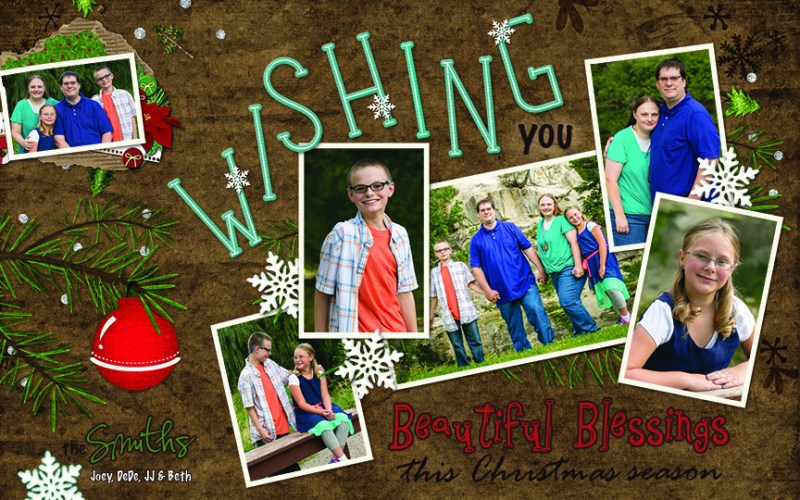 Merry Christmas from The Smith Family