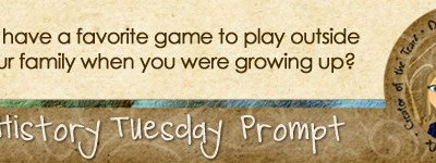 Journal prompt: Did you have a favorite game to play outside with your family when you were growing up?