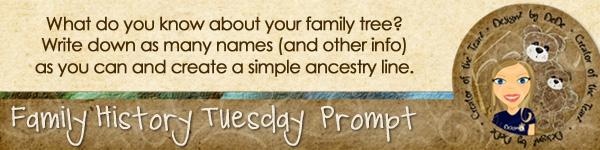 Journal prompt: What do you know about your family tree?