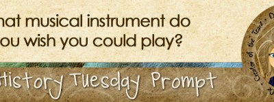 Journal prompt: What musical instrument do you wish you could play?