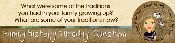 Journal Prompt: What were some of the traditions you had in your family growing up? What are some of your traditions now?
